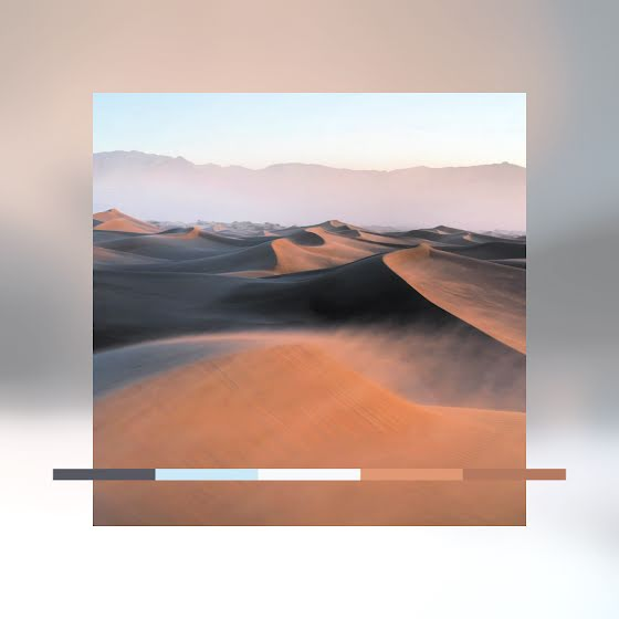 Dark Dunes Color Palette - Instagram Post Template