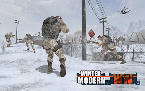 Rules of Modern World War Winter FPS Shooting Game 2
