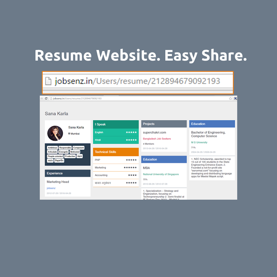 myresume the easy cv builder android apps on google play myresume the easy cv builder screenshot