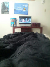 Photo: Morning Cartoons in bed with Mama
