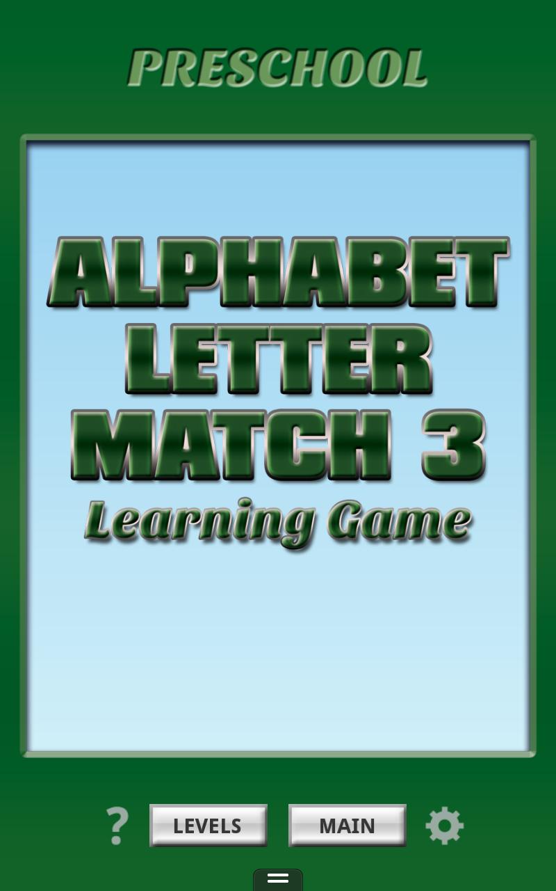 Скриншот Alphabet Letter Match 3 Free