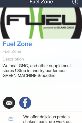 Fuel Zone