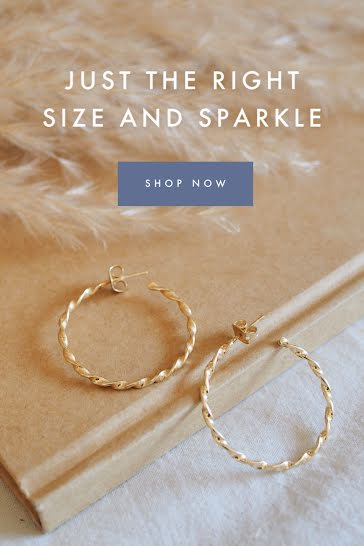 Size & Sparkle - Pinterest Pin Template