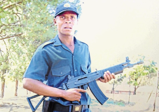 Constable Tshepo Tladi whose death was caught on CCTV footage in Katlehong, on the East Rand. File photo