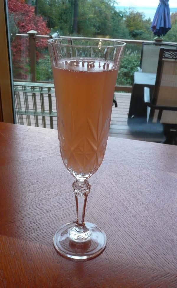 Cosmopolitan Champagne Cocktail