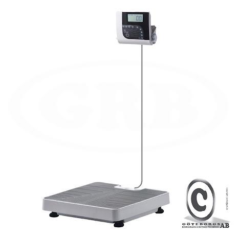 Personvåg (golv) H151-00-7 250 kg 100 g