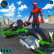 Light Bike Superhero City Rescue Moto Bike Games