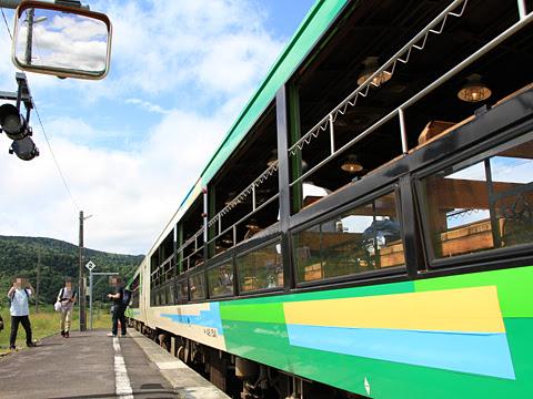 JR北海道 観光列車「風っこそうや」 音威子府にて_18