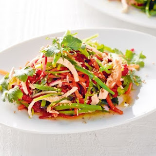 Tangy Thai chicken salad.