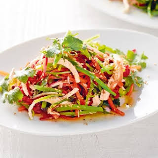 Tangy Thai chicken salad.