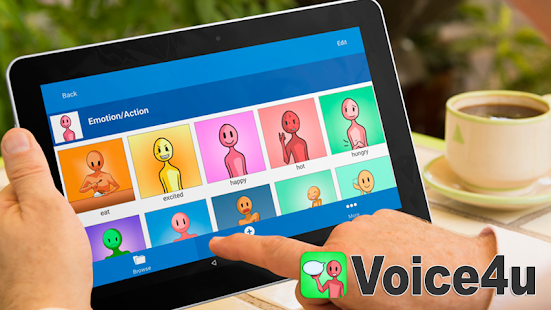Voice4u AAC Communication- screenshot thumbnail