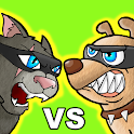 Cat vs Dog - Ninja War icon