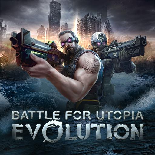 Evolution: Battle for Utopia. Shooting games free Icon