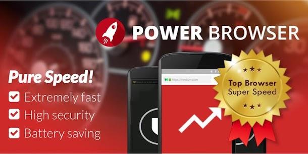 Power Browser – Fast Internet Explorer App Latest Version  Download For Android 1