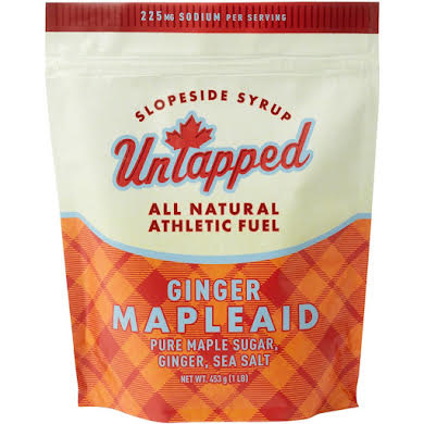 UnTapped Mapleaid Athlete Fuel Drink Mix: Ginger, 1-Pound Bag