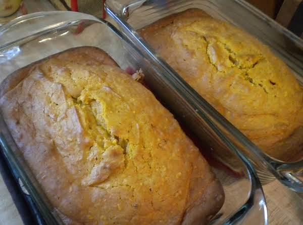 Soft Coconut Pumpkin Bread Recipe
