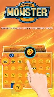 Pocket Dragon Theme&Emoji Keyboard - náhled