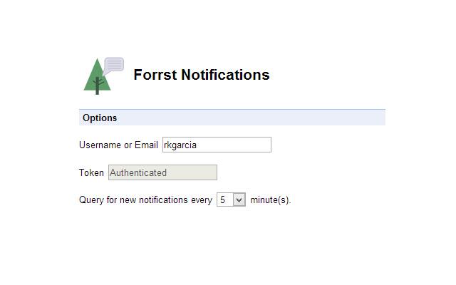 Forrst Alerts