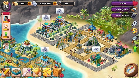 Fantasy Forge: World of Lost Empires  Apk Download For Android and Iphone 8