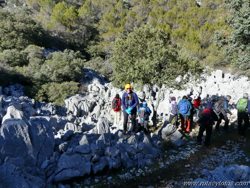 Grazalema-Simancon-Reloj-Charca Verde-Cueva de las Dos Puertas
