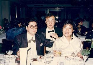Photo: Gone to meet Marczs'. Carlton Hotel 1986