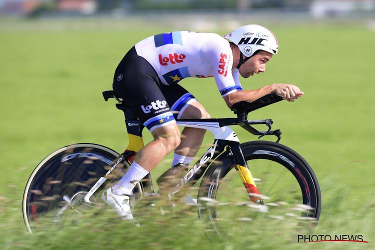 Victor Campenaerts évalue le parcours du contre-la-montre des Championnats du Monde