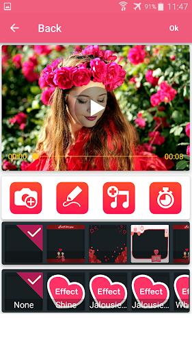 Photo video maker with music screenshot 20