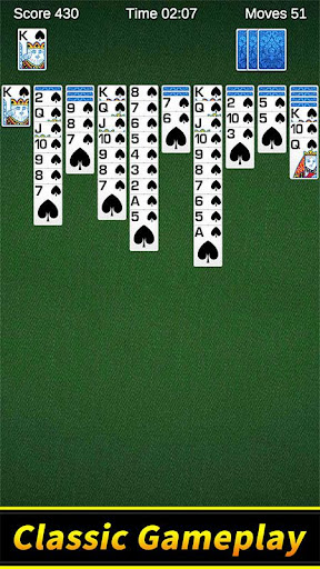 Spider Solitaire 1.10.4.203 screenshots 1