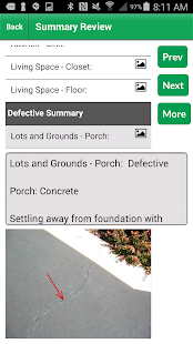Palm-Tech Home Inspection Software- screenshot thumbnail