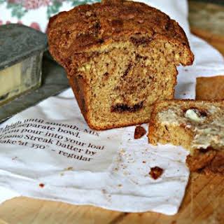 Cake Mix Cinnamon Bread.