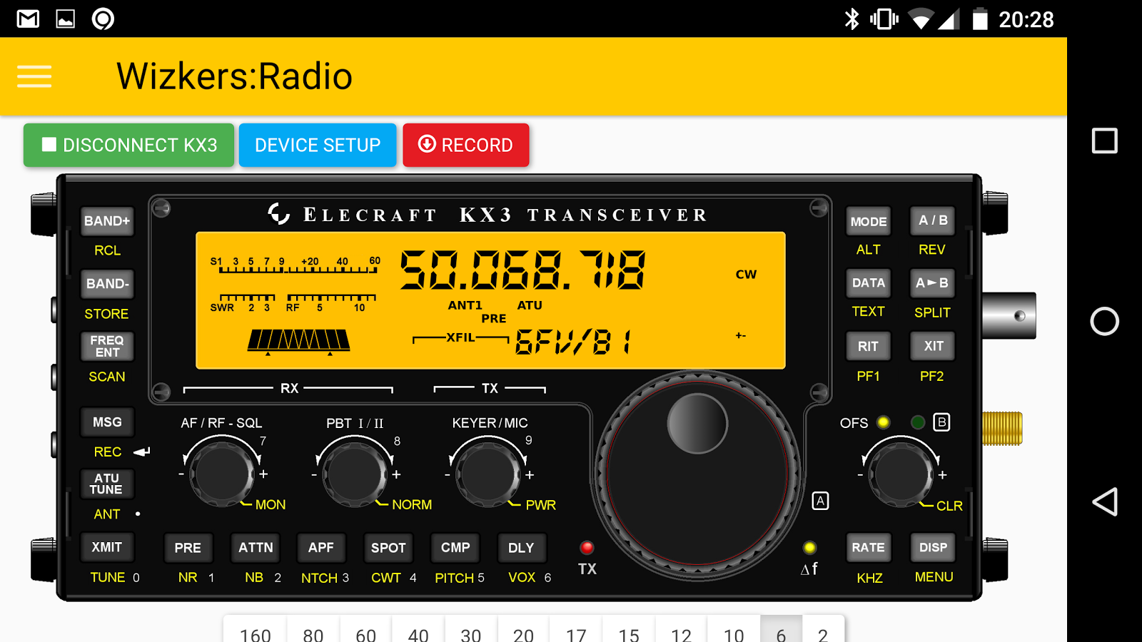 Wizkers:Radio- screenshot