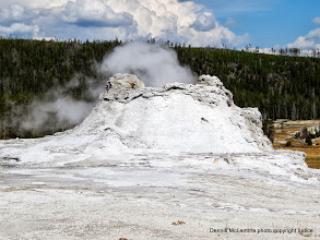 Photo: Castle Geyser