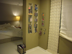 Photo: Master Bedroom - Cds shelves at Foyer Area