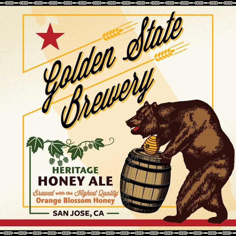 Logo of Golden State Heritage Honey Ale
