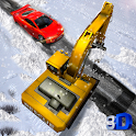 Snow Rescue Excavator Sim icon