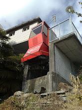 Photo: Orselina Hotel Mon Desir - www.standseilbahnen.ch Standseilbahn Funiculaire Funicular