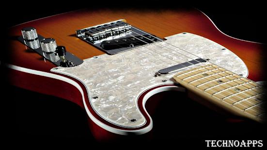 Electric Guitar Wallpaper Screenshot Thumbnail