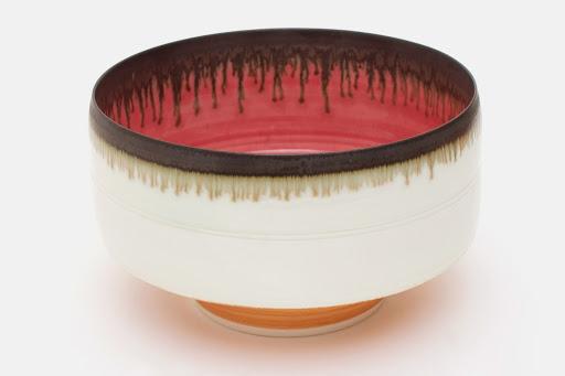 Peter Wills Deep Porcelain Bowl 087