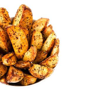 Spicy Potato Wedges.