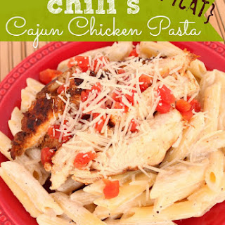 Chili's Copycat Cajun Chicken Pasta.