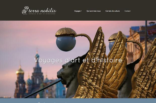 création de site internet réalisée par terra-nobilis