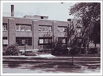 Photo: North University Building, c. 1960, Main Campus, University of Michigan, Ann Arbor