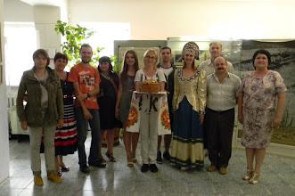 Photo: хлебом-солью нас встречают в краеведческом музее села Прасковея