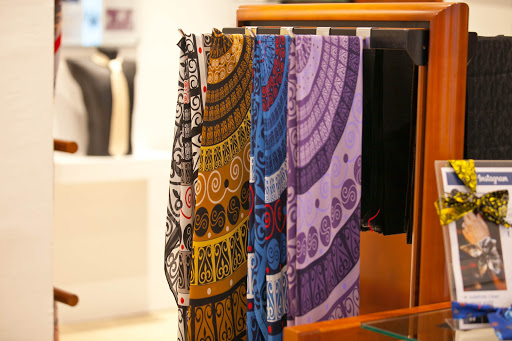 Croata-scarves.jpg - Shop for high-end accessories such as scarves at Croata on the Strada, the main road in Old Dubrovnik.