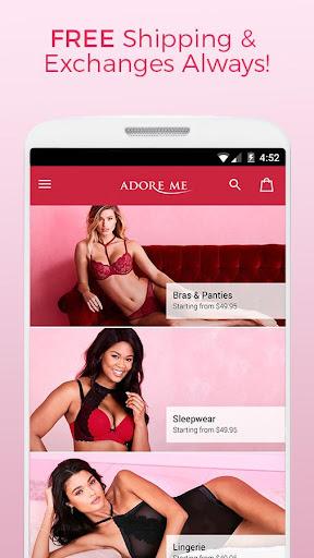 Adore Me – Designer Lingerie Screenshot