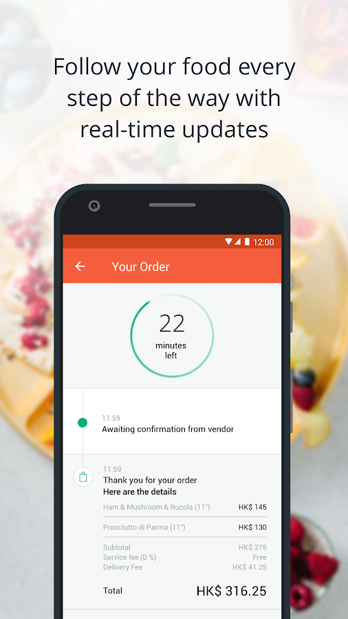 Screenshots of foodpanda - Food Delivery for iPhone