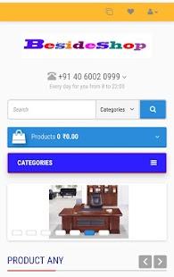 BesideShop - náhled