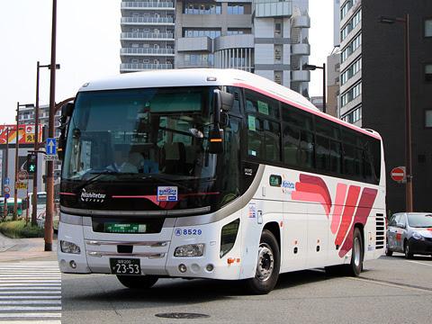 西鉄高速バス「ゆふいん号」 8529