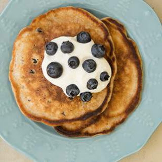 Blueberry-Pecan Pancakes
