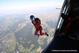 Photo: départ Voltige